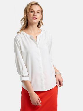 Блузка с ажурным узором